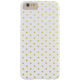 Fashion gold polka dots barely there iPhone 6 plus case