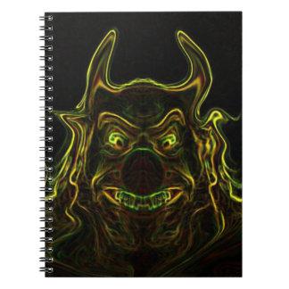 fashion, hallowen, funny, notebook
