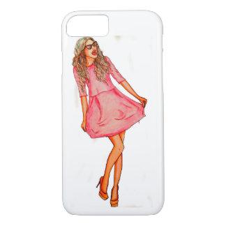Fashion illustration phone case