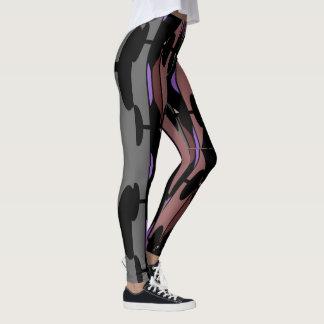 Fashion Leggings 4 Her-Black/Gray/Salmon/Lavender