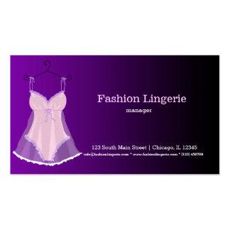 Fashion Lingerie Business Cards