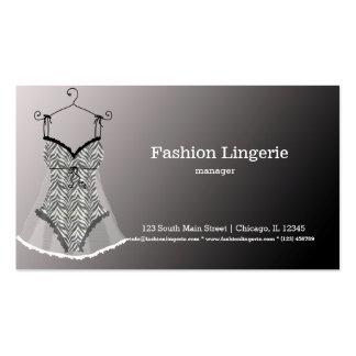 Fashion Lingerie Business Card Templates