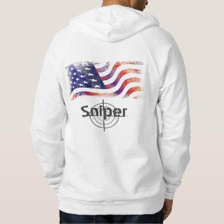 Fashion Mens USA Flag Apparel Clothing Hoodie
