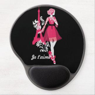 Fashion modern stylish trendy illustration gel mouse pad