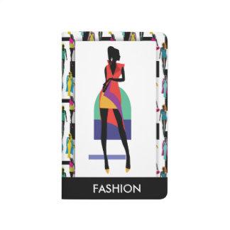 Fashion modern stylish trendy illustration patte journal