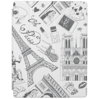 Fashion Paris iPad Cover