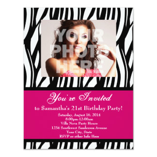 Surprise 21st Birthday Party Invitations Announcements Zazzle