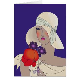 Fashion Plate Card