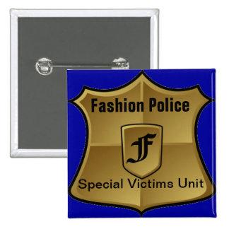 Fashion Police Special Victims Unit Pinback Button