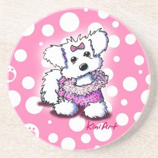 Fashion Princess Maltese Coaster