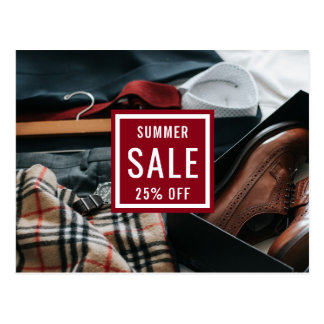 Fashion Sale Announcement | Direct Mail Marketing Postcard