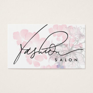 Fashion Salon Designer Beauty Fragrance Card