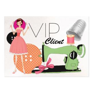 Fashion / Seamstress VIP Card - SRF Business Card Templates