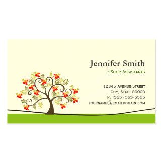 Fashion Shop Assistants - Appointment Pack Of Standard Business Cards