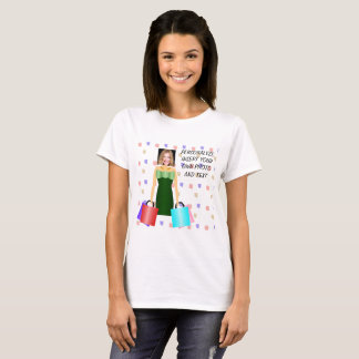 Fashion Shopping Addict, TShirt - Photo & Text