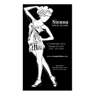 Fashion Show (White) Pack Of Standard Business Cards