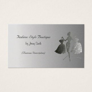Fashion Style Boutique Business Card