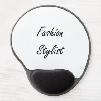 Fashion Stylist Artistic Job Design Gel Mouse Pad