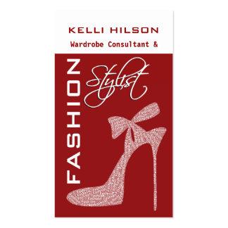Fashion Stylist Business Cards
