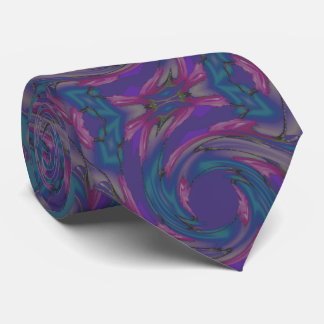 Fashion Tie for Men-Turquoise/Purple/Pink