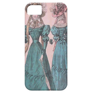 Fashion Vintage Blue Gowns iPhone 5 Case