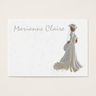 Wedding gowns business cards business card printing zazzle fashion wedding profile srf business card reheart Images