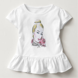 Fashion wedding watercolor illustration toddler T-Shirt