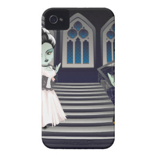 Fashion Zombie Couple near Stairs2 Case-Mate iPhone 4 Case