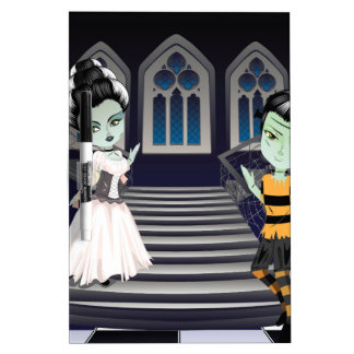 Fashion Zombie Couple near Stairs2 Dry-Erase Boards