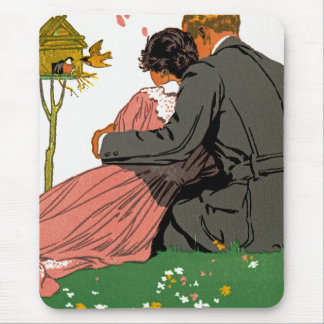 Fashionable Lovers Mouse Pad