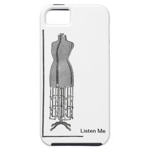 Fashionable Steampunk Dress Stand 1920s iPhone 5 Cover