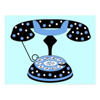 Fashionable Telephone Postcards