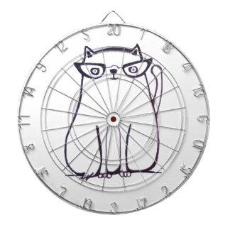 fashionista cat dart board