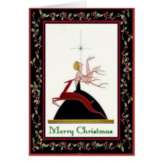 Fashionista Christmas Card