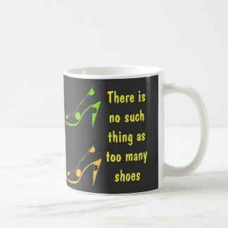 Fashionista High Heel Shoes Coffee Mug
