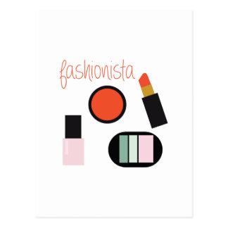 Fashionista Postcard