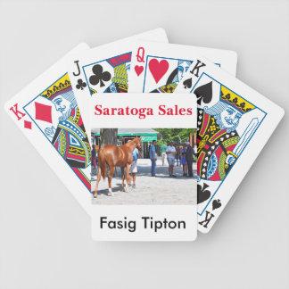 Fasig Tipton 16' Bicycle Playing Cards