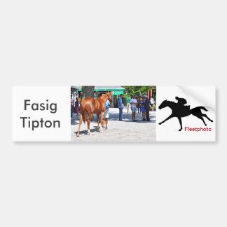 Fasig Tipton 16' Bumper Sticker