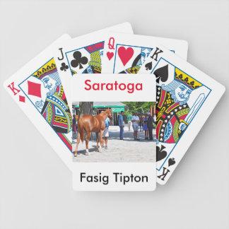 Fasig Tipton 16' Poker Deck