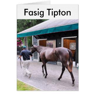 Fasig Tipton Select Sales at Saratoga Card