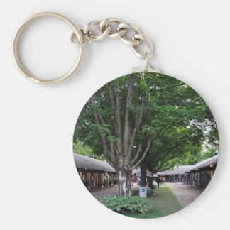 Fasig Tipton Select Sales Basic Round Button Key Ring