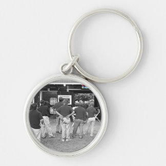 Fasig Tipton Select Sales Silver-Colored Round Keychain