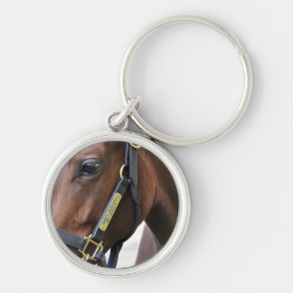Fasig - Tipton Select Yearling Sales Silver-Colored Round Key Ring