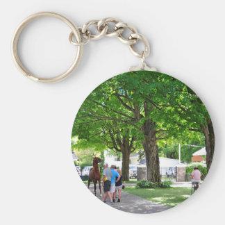 Fasig Tipton Yearling Sales Basic Round Button Key Ring