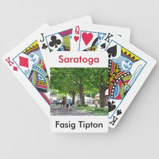 Fasig Tipton Yearling Sales Bicycle Playing Cards