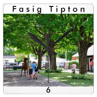 Fasig Tipton Yearling Sales Wallclock