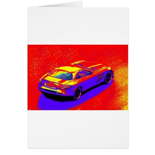 fast car cards