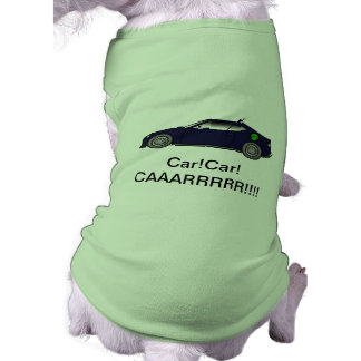 Fast Car Dog Clothing