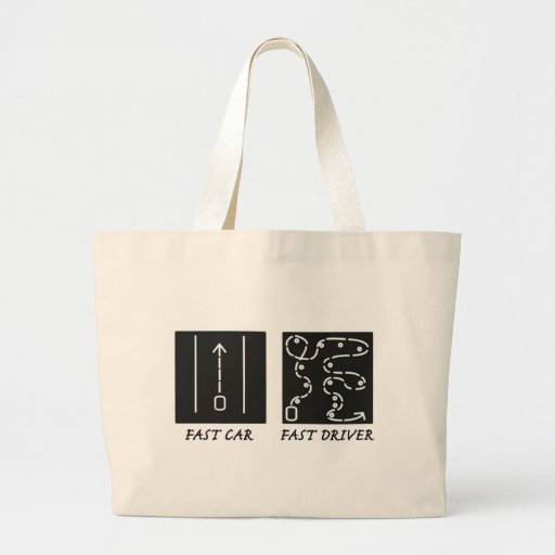 Fast Car Fast Driver Bags