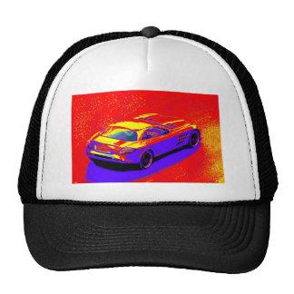 fast car mesh hats